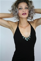 HALTER TOP WITH PAUA PIECES