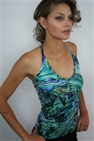 PAUA HALTER TOP