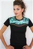 DOUBLE WAVE PAUA PANEL TEE SS